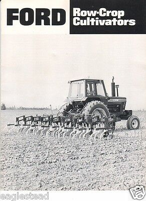 Farm Implement Brochure - Ford - 401 450 - Row Crop Cultivators - 1977 (FB275)