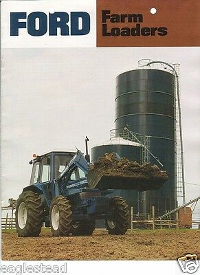Farm Implement Brochure - Ford - 768 770 771 773 et al - Loaders - 1982 (FB274)