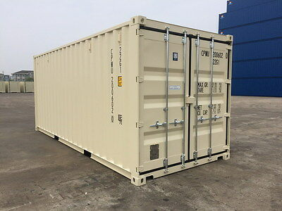 Shipping Container 20' GP, Sydney, New (used once), Lock Box, Various Colours