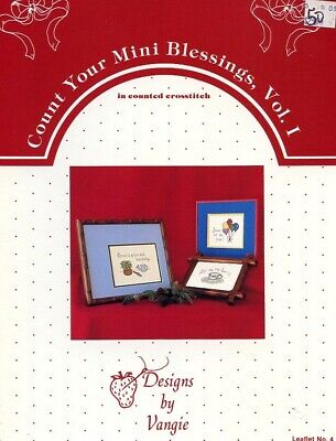 Count Your Mini Blessings Vol. I Cross Stitch Pattern Leaflet - 30 Days to Pay!