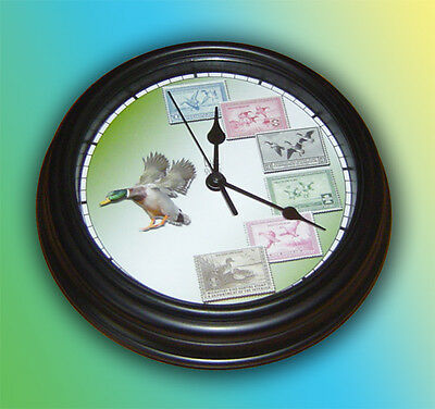 Duck Stamp Wall Clock
