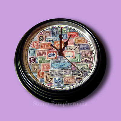 Stamp Collectors Wall Clock