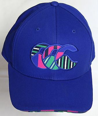 Canterbury Blue Plain Uglies Cap By Canterbury Size S-M Brand New With Tags