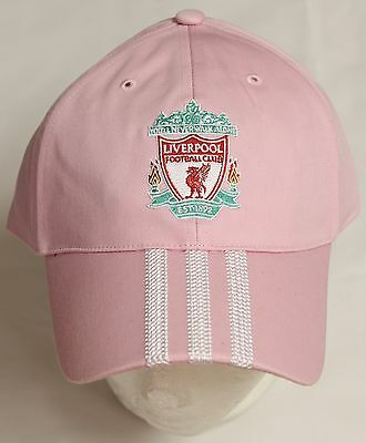 Liverpool Pink Baseball Style Cap By Adidas Size Unisex Adults Brand New