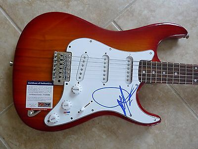 Dwight Yoakam IP Signed Autographed Electric Guitar Country Music PSA Certified