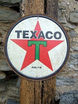 Vintage Style Texaco Sign Ad Retro Basement Garage Picture Gas Pump Station USA