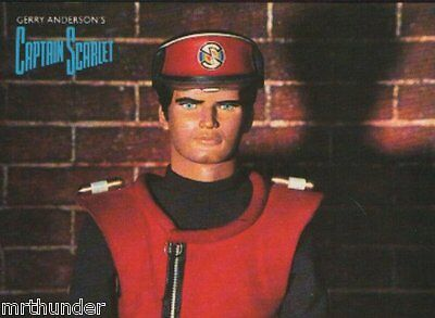 Gerry Anderson's Capt. Scarlet Postcard - Engale Marketing 1988 Captain Scarlet