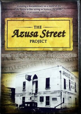 The Azusa Street Project Revival 1906 NEW DVD Documentary William J. Seymour