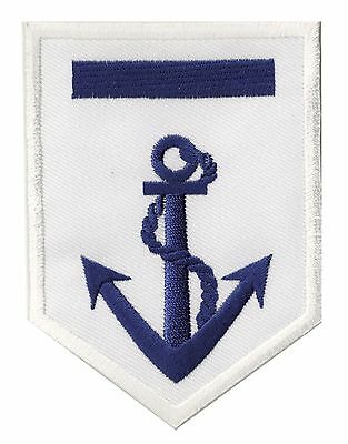 Patche Ecusson brodé transfert insigne capitaine Marine Navy marin patch écusson