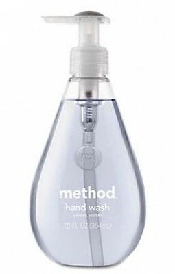 Method Gel Hand Wash Handsoap 354ml - Fresh Sweet Water Scented Triclosan Free