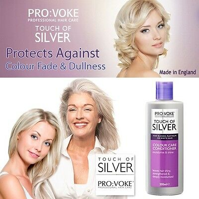 Provoke ouch Of Silver Silver Colour Care CONDITIONER Grey, Platinum Hair 200ml