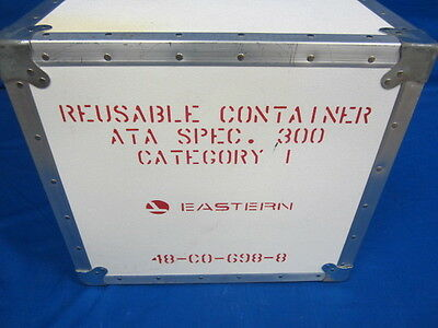 Vintage Eastern Airlines Re-useable Anvil Cargo Storage Shipping Container used