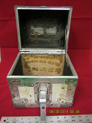 Vintage A & J Reusable Cargo Storage Small Shipping Container used 9""