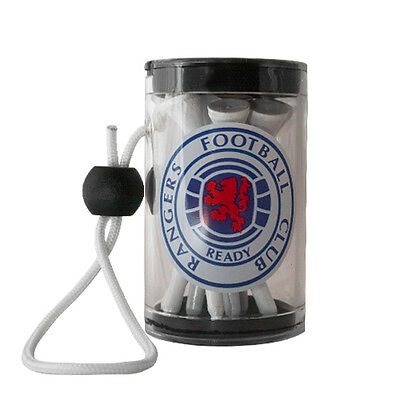 Rangers F.C Official Golf Tee Shaker With Tees rrp£7
