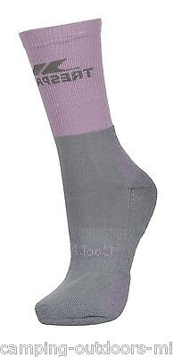 NEW Trespass Ladies Hiking COOLMAX SOCKS Womens Walking Blue