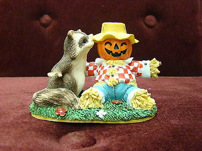 Charming Tails By Dean Griff  Silvestri You're Not Scary Figurine 87440~Rare New