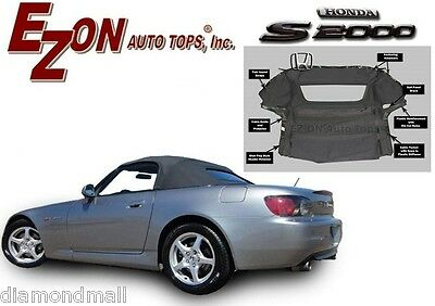 NEW Honda S2000 2000-2001 Convertible Soft Top With Glass Window EZ ON Brand