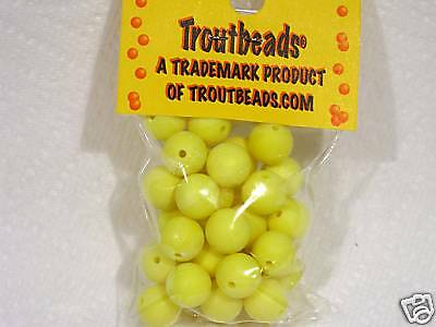 Troutbeads Chartreuse 10 Mm Trout Beads