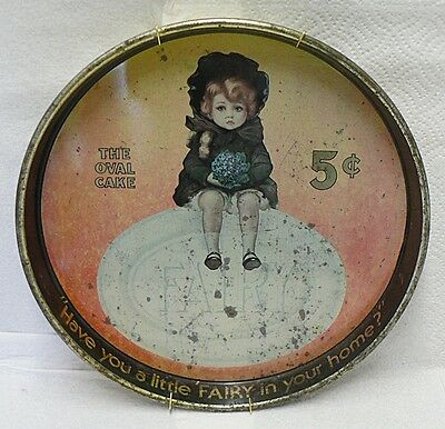 Old Fairy Soap Tin Tray