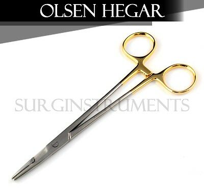 "10 T/C Olsen Hegar Needle Holder Surgical Instruments 5.50"" O.R. Grade"