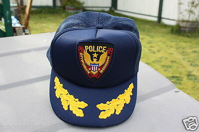 Ball Cap Hat - Police - City of Corinth - Mississippi (H622)