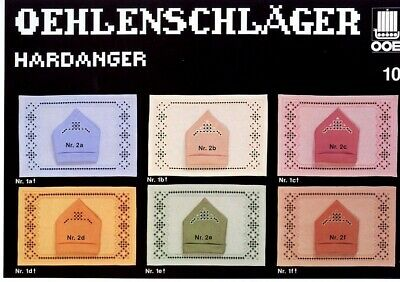Oehlenschlager Hardanger #10 NEW OOE Pattern Leaflet - 30 Days to Shop & Pay!