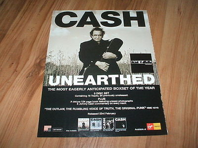 Johnny Cash-2004 magazine advert