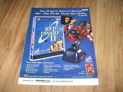 Red Dwarf season 2-2003 magazine advert