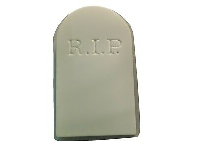 Huge RIP Tombstone Concrete Plaster Cement Halloween Mold  8008 Moldcreations