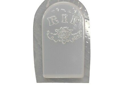 RIP Griffin Halloween Tombstone Cement Plaster Concrete Mold 8014 Moldcreations