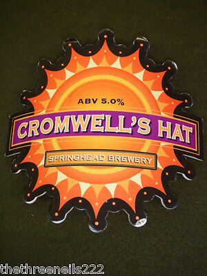 Beer Pump Clip - Cromwell's Hat