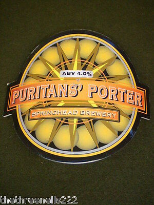 Beer Pump Clip - Puritan's Porter