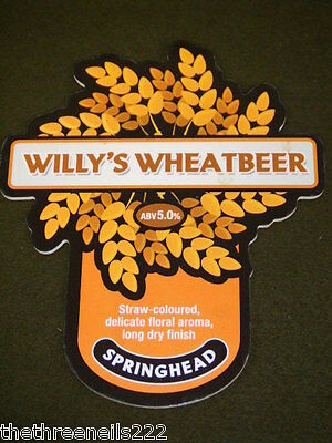 Beer Pump Clip - Willy's Wheatbeer