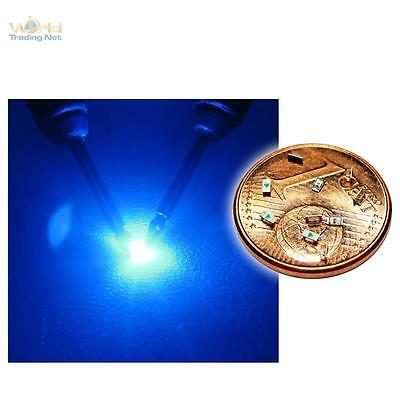 _10 blaue SMD LEDs 0603 / mini LED SMDs BLAU blue bleue azzurro blauw azul