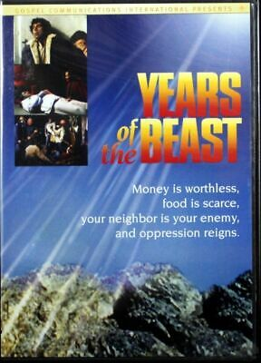 Years Of The Beast NEW Christian DVD Movie Witness the years of tribulation