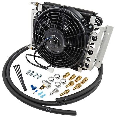Derale 13900 Electra-Cool Trans Cooler Kit Inlet Size: -6AN