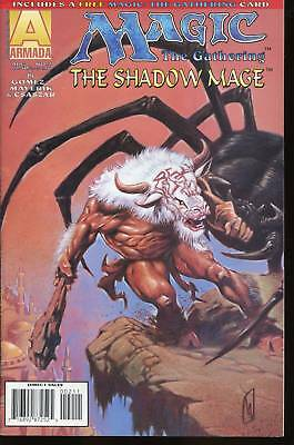 MAGIC THE GATHERING / THE SHADOW MAGE N°2..NEUF +carte
