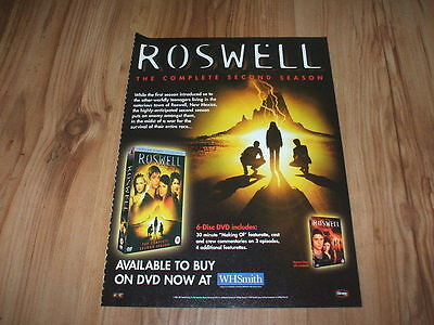 Roswell 2nd season-2004 magazine advert