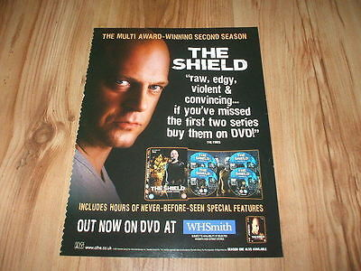 The Shield 2nd season-2004 magazine advert