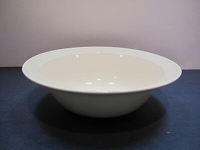 "Vintage LuRay pastel persian cream 9"" flat rim serving/vegetable bowl-As Is"