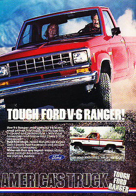 Vintage Advertisement Ad A27-B 1994 Ford Ranger Truck reliability