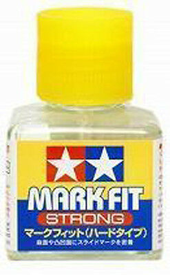 TAMIYA 87135 Mark Fit Strong Decal Cement Glue 40ml For Plastic Model Kit