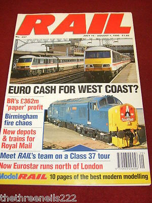 Rail - New Depots For Royal Mail - Aug 2 1995 # 258