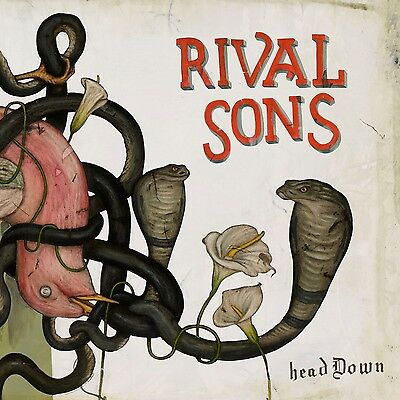"Rival Sons ""Head Down"" Jewel Case CD - NEW (pressure time company man redux)"