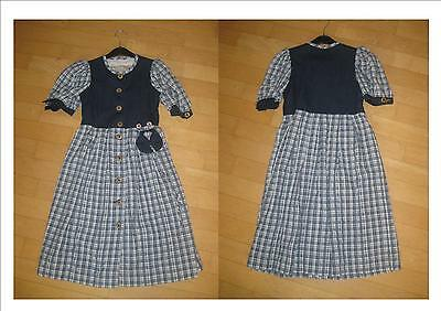 Super  Kinder Moser Trachtenkleid in grau Gr.122 TOP
