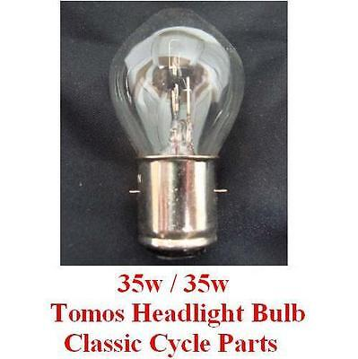 Tomos Headlight Bulb 12V 35w/35w Head Light A55 A-55 Streetmate Arrow Revival