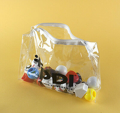 Clear PVC Bag. Lot of 6000 for $0.20 each.