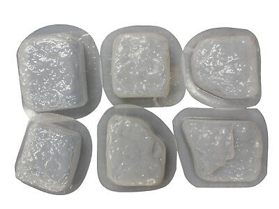 Cobble Rock Brick Stone Mold Set Stepping Stone Concrete Garden Walkway  2031