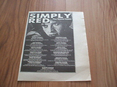 Simply red-1985 magazine advert