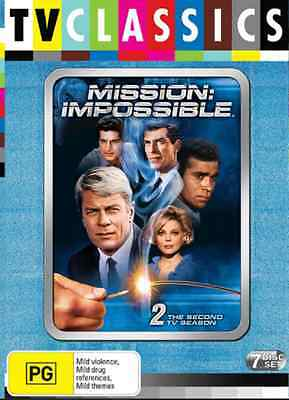 Mission Impossible: Season 2 DVD NEW